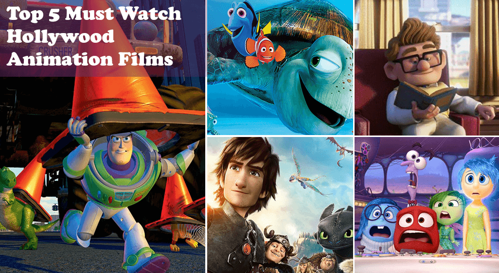 Top 5 Hollywood Animation Films